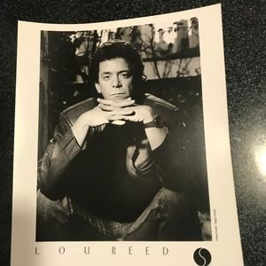 lou reed 3 authentic press photos